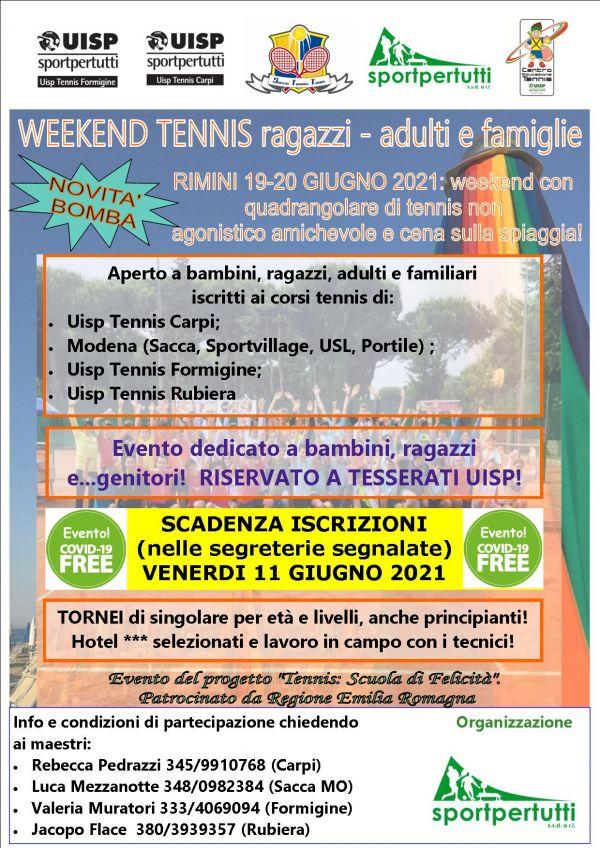 tennis weekend rimini